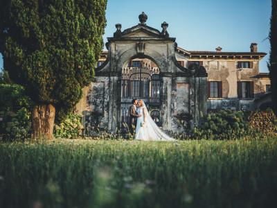 Matrimonio Villa Le Zerbare - Fotografo Verona