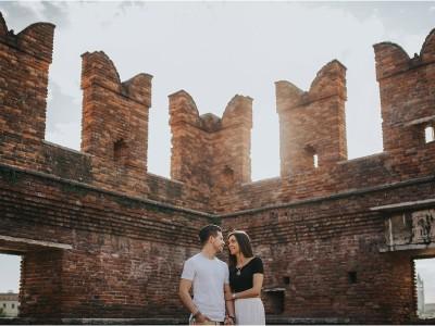foto di coppia a Verona