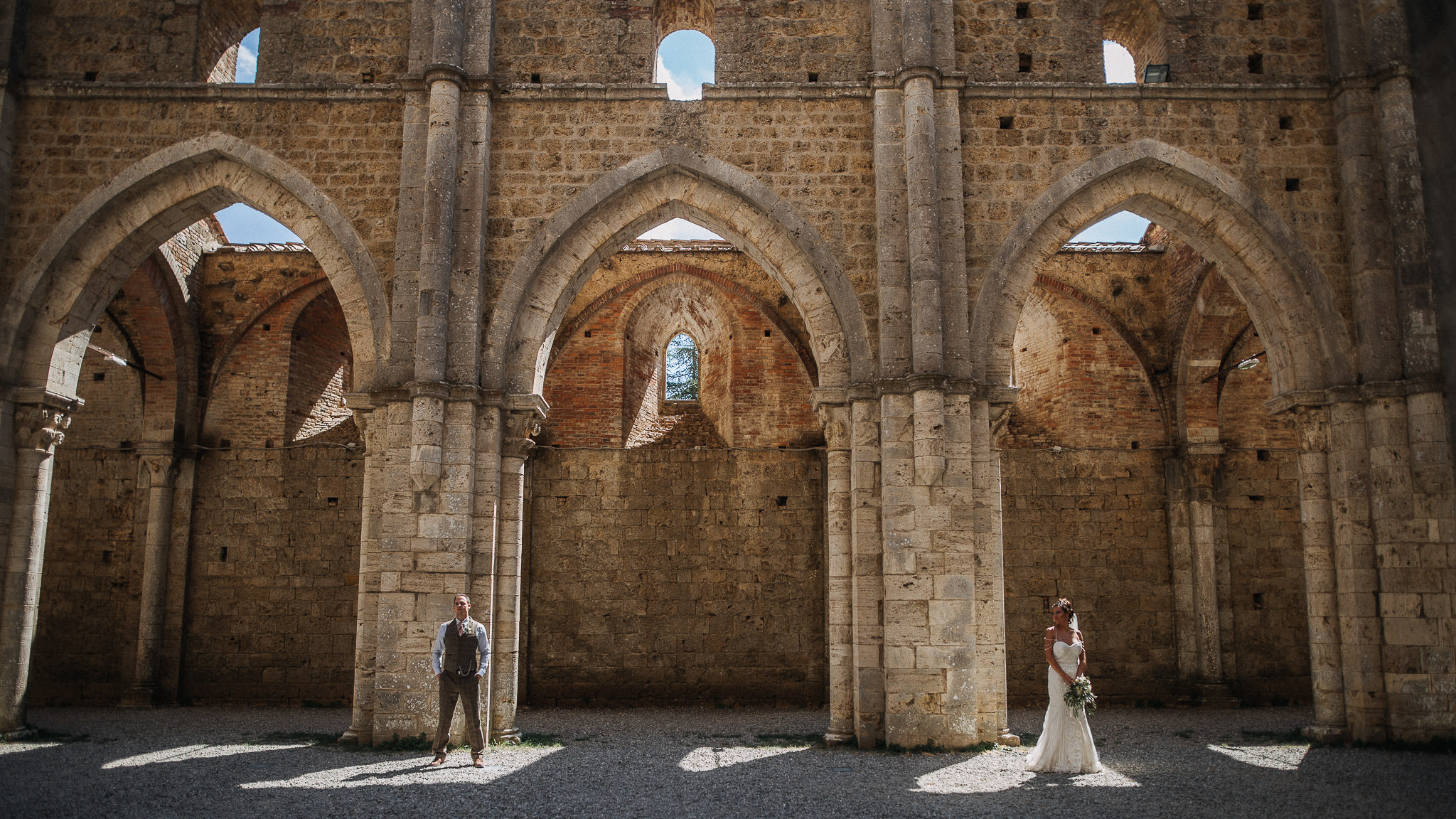 Wedding in San Galgano
