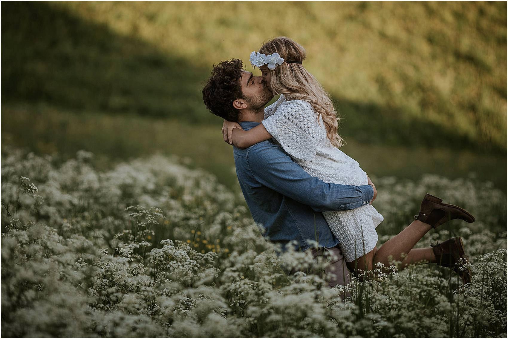 foto di coppia in Lessinia