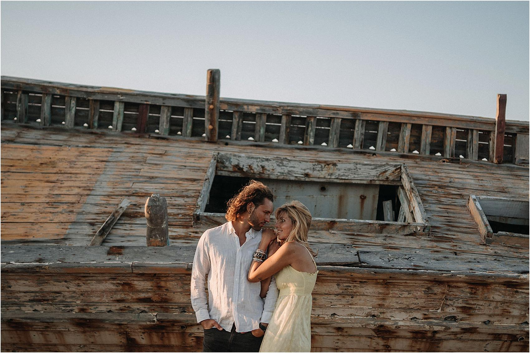 engagement in Crete - Greece